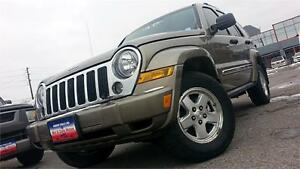 2006 Jeep Liberty Limited / DIESEL / AUTO / 4X4 / HITCH