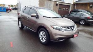 2014 Nissan Murano SL/AUTO/AWD/BACKUP CAMERA/IMMACULATE$15900