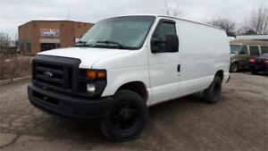 2011 Ford E-350 Super Duty Cargo Van, Shelving units, Certified!
