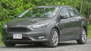 2015 Ford Focus SE Certified Pre-Owned (Low Km's!)