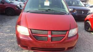 2007 DODGE GRAND CARAVAN STOW & GO WITH SAFETY