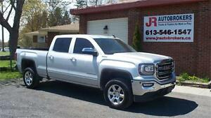 2016 GMC Sierra SLT Crew 4X4 - 6.2L V8 FULLY LOADED! Low Kms!