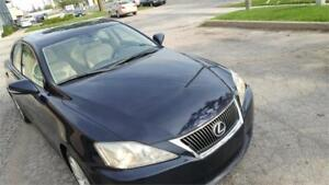 2009 Lexus IS 250 6,SPEED MANUEL ECONOMICAL FINANCING AVAILABLE