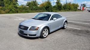 2001 Audi TT 6 Speed Manual Quattro