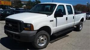 2005 Ford F-350 XL 4x4, 4 doors, 8 Foot box, Plow truck ad on's!