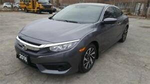2016 Honda Civic Coupe LX***VERY LOW KM***14,990+HST***