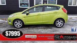 2011 FORD FIESTA SES HATCHBACK - CRUISE - BLUETOOTH - LEATHER
