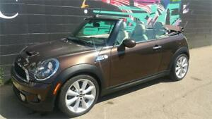 2012 MINI COOPER S CONVERTIBLE *Low Kms*Sport Pkg*Harmon/Kardon