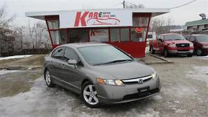 2008 Honda Civic Sdn LX| GREAT ON GAS!!!