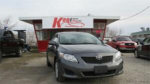 2009 Toyota Corolla CE | ONLY 83 KMS!!! ACCIDENT FREE!!!