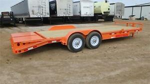 2017  22' Equipment Trailer (14000 GVW) Double A Trailers