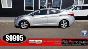 2013 HYUNDAI ELANTRA GLS SEDAN - 6speed, cruise, bluetooth.