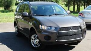 2010 Mitsubishi Outlander ES WITH SAFETY CERTIFICATE