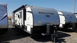 KINGSPORT 268BH - REDUCED! - 30' Economy Bunkhouse