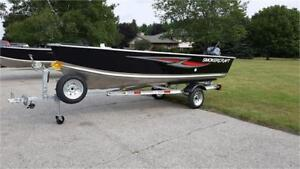 SmokerCraft 14 Big Fish TL w/ Trailer & 15hp (2018)