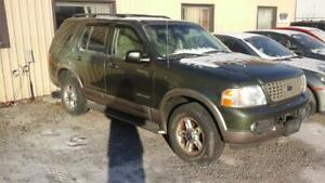 2002 Ford Explorer Eddie Bauer runs and drives as.is deal