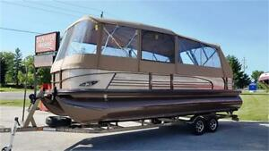 Regency 254 LE3 Pontoon Boat For Sale (2015) w/ Trailer