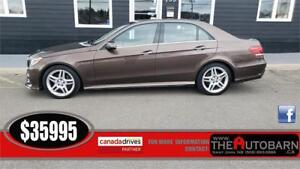 2014 MERCEDES-BENZ E350 4MATIC - 6cl auto, fully loaded, leather