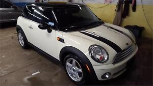 2009 MINI COOPER WITH PANORAMIC ROOF