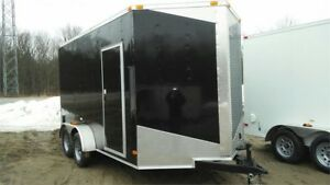 2018 NEW 7x12 +V-NOSE EXTRA HEIGHT ENCLOSED CARGO TRAILERS
