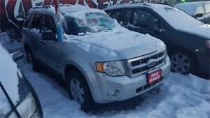 2008 FORD ESCAPE 4X4 - POWER SLIDER ROOF - CERTIFIED