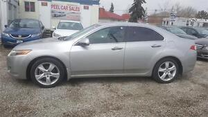 2009 Acura TSX w/Tech Pkg|NAVI|REARVIEW CAM|BLACK LEATHER|