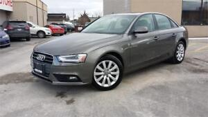 2014 Audi A4 Komfort AWD OFF LEASE 1 OWNER