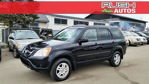 2002 Honda CR-V EX AWD **LEATHER, AUTOMATIC TRANS**