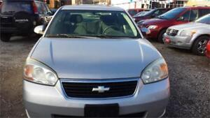 2007 CHEVY MALIBU AUTOMATIC AIR WITH SAFETY AND WARRANTY