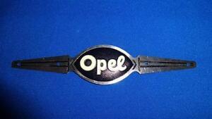 Altes Typenschild Steuerkopfschild Alu Vorkrieg Oldtimer - Opel