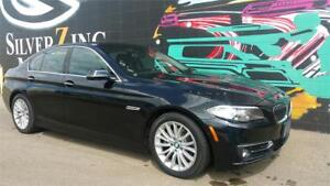 2014 BMW 528i xDrive AWD *Premium Pkg *Low Kms *Srnd View Cam