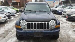 2005 JEEP LIBERTY AUTOMATIC 4X4 SAFETY WARRANTY AVAILABLE
