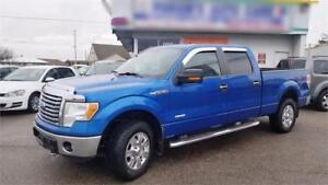 2012 Ford F-150 XTR Supercrew, 4WD -  4X4, No Accidents
