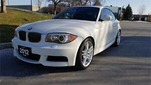 2012 BMW 1 Series 135i | Red Interior | M Package | 6 Speed