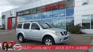 2011 Nissan Pathfinder S 4WD **TOW PACKAGE**
