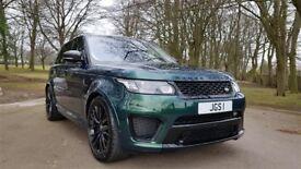 Land Rover Range Rover Sport SVR 5.0 V8