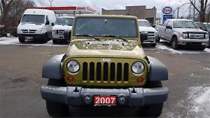 2007 jeep Wrangler Rubicon 4x4