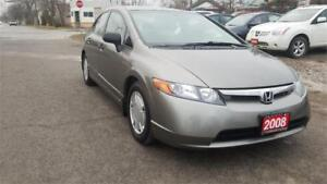 2008 Honda Civic Sdn DX-G, Certified