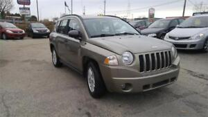 2007 Jeep Compass 4x4 Sport |Certified |Warranty  No accident