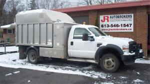 2009 Ford F-550 DRW XL 4X4 w/ Enclosed Aluminum Dump Box