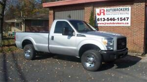 2014 Ford SD F-250 SRW XL 4X4 Reg Cab Long Box 6.2L Work Truck