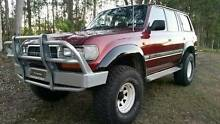 Toyota Landcruiser, 80 series, manual,  35 inch tyres and lift, Gympie Gympie Area Preview