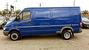 """2004 Dodge Sprinter 3500 140"""" WB, DIESEL, 5cyl, HITCH, DIVIDER"""