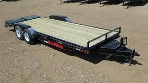 2016 !SALE!  22' Equipment Trailer (14000 GVW) Double A Trailers