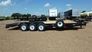 2016 !SALE! 24' Triple Axle Equipment Trailer (21000LB) Double A