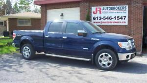 2012 Ford F-150 LOADED Lariat Supercrew EcoBoost -Mint Condition