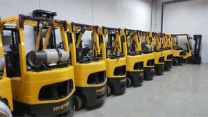 FORKLIFT CHARIOT ELEVATEUR LIFT TOYOTA CAT YALE RAYMOUND HYSTER
