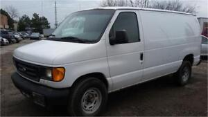 2006 Ford E-150 cargo van, Dual Shelving units, Work Truck!
