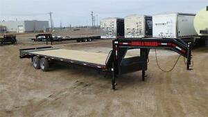 2016 Double A 30FT Tandem Gooseneck Trailer (20000LB GVW