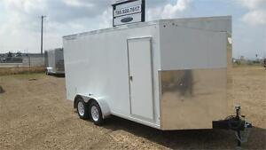 2016 7FT x 16FT Precision Cargo Enclosed Trailer (7000LB GVW)
